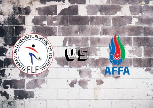 Luxemburgo vs Azerbaiyán  Resumen