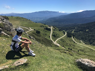 Roadcycling in the Pyrenees