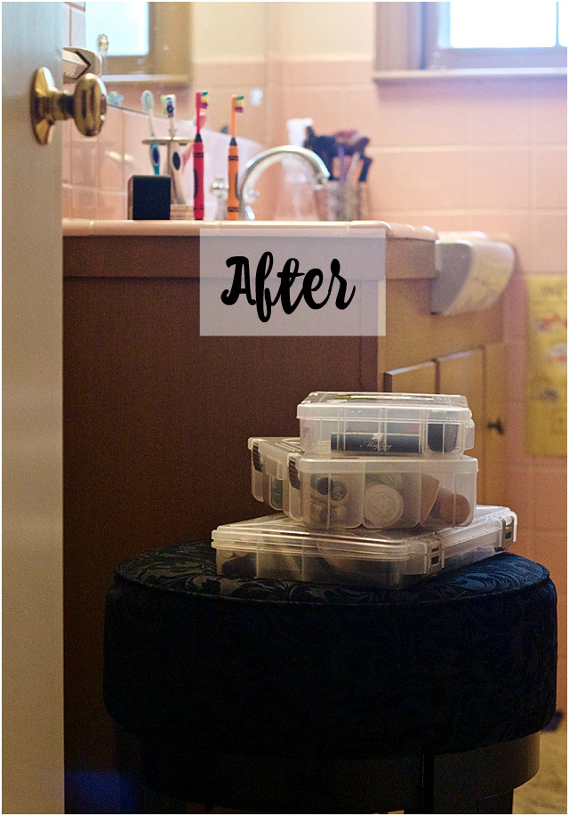 Make Up Organizing Tip