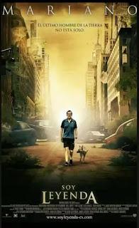 Mariano Rajoy paseando con el fondo de la película soy leyenda