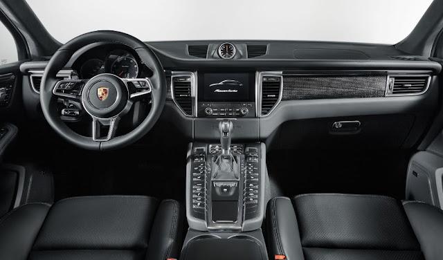 Características interiores que proveen mayor confort - Porsche Macan Turbo 2017