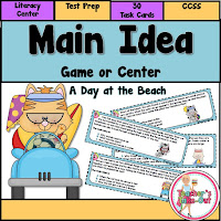 Main Idea Game or Center