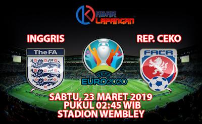 Prediksi Bola Inggris vs Republik Ceko 23 Maret 2019