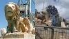 فدا- تحطيم أحد تماثيل الأسود وسط رام الله  اعتداء مشين يهدف اعادة الجمهور الفلسطيني إلى حقب التخلف والسلفية والمحافظة والانغلاق