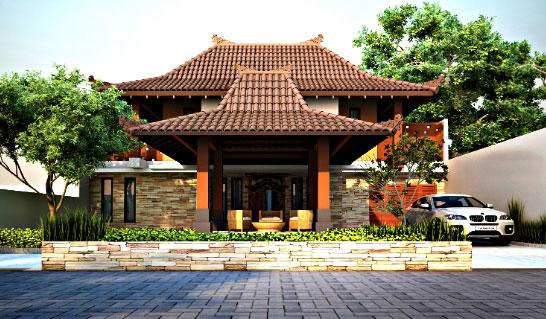 Gambar Desain Rumah Minimalis Gaya Bali