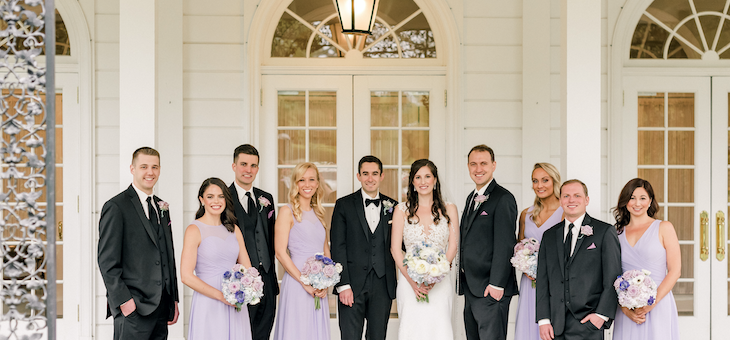 Pretty Pastels for Spring in this Fox Chapel Golf Club Wedding