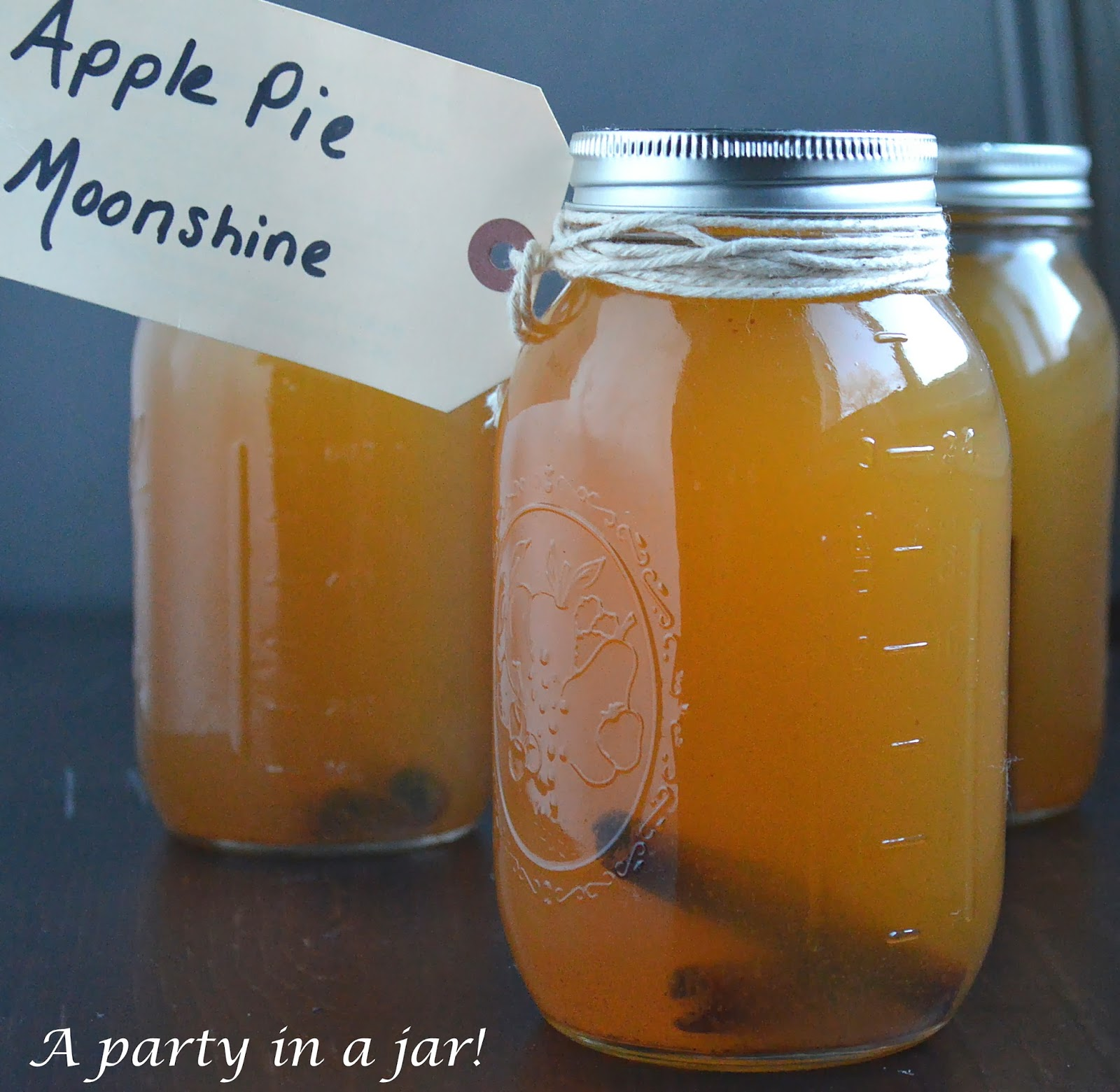The Very Best Recipe For Homemade Apple Pie Moonshine