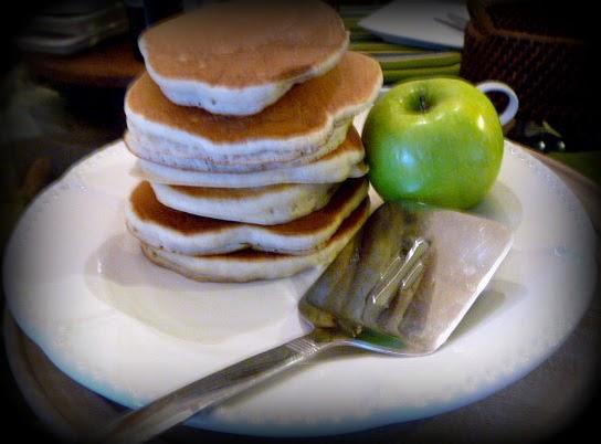 Slice Of Southern Honey Apple Pancakes