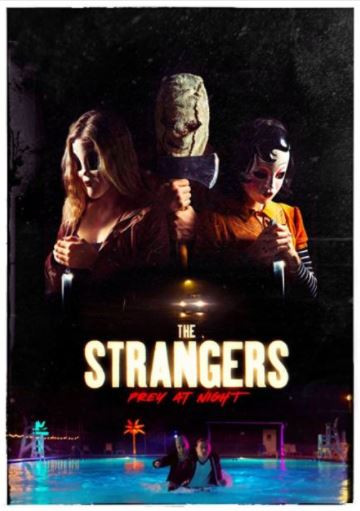 Poster of The Strangers: Prey at Night 2018 Full English Movie 720p WEB-DL