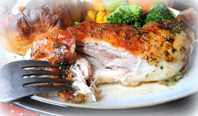 Lemon, Garlic & Herb Chicken Quarters