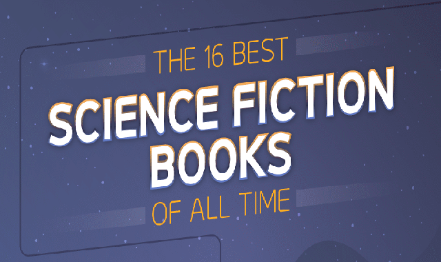 The 16 Best Science Fiction Books of All Time #infographic