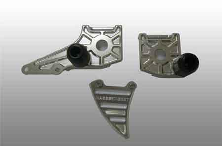 Rear Adjuster Plate Kit Ninja 250R