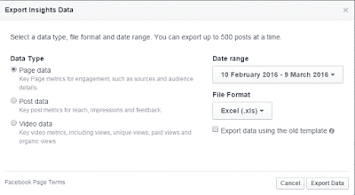 Export Insight data