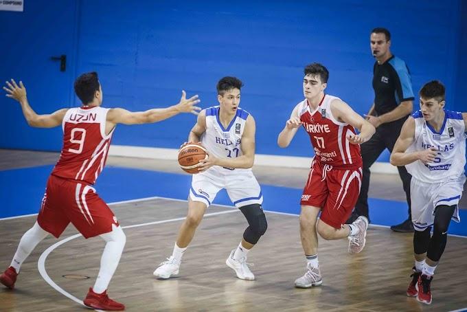 Ηττα από την Τουρκία και αντίο Παγκόσμιο για την Εθνική Παίδων-Στην έκτη θέση η Ελληνική ομάδα-Φωτορεπορτάζ και το στατιστικό του αγώνα