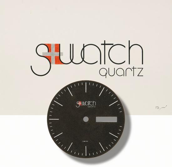 Swatch logo 1981