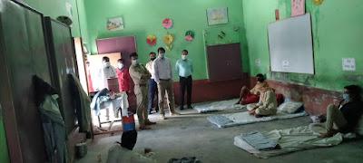दयानन्द बाल विद्या मन्दिर कालपी में क्वारेन्टाइन किये व्यक्तियों की चेकिंग  Checking of quarantined persons in Dayanand Bal Vidya Mandir Kalpi     संवाददाता, Journalist Anil Prabhakar.                 www.upviral24.in