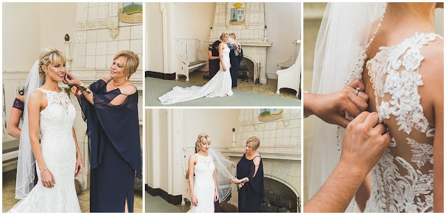 photos of bride and her mother