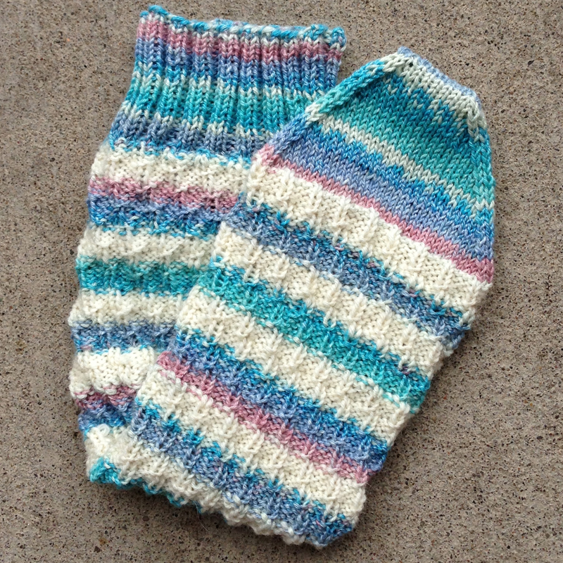 Minding My Own Stitches Year Of Projects Heelless Sleeping Socks 02