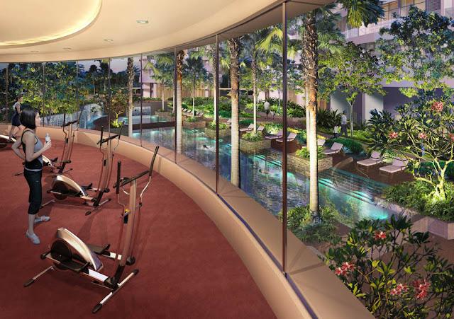 Phòng tập Gym tại Lạc Hồng Lotus