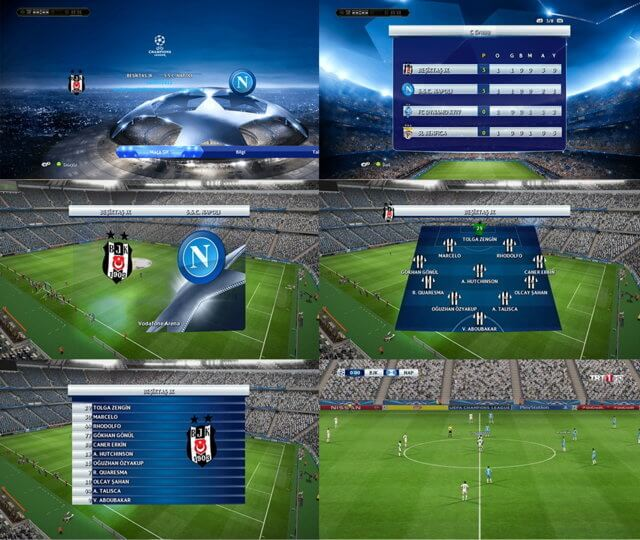 UCL and UEL 2016 Graphic PES 2013