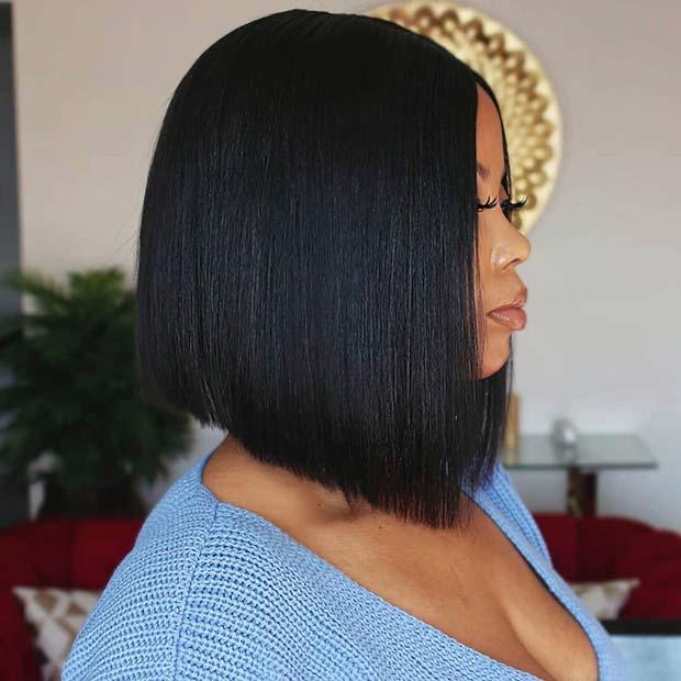 27 Wonderful Short Bob Weave Hairstyles 2020 For Black Women To Create