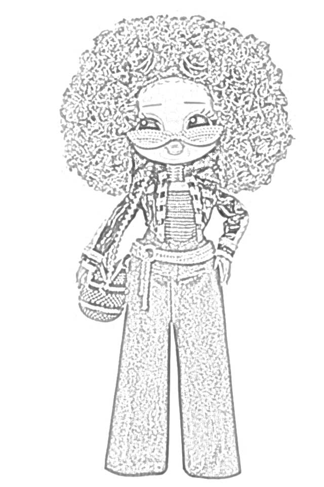 Coloring Pages L O L Surprise O M G Dolls Coloring Pages Free