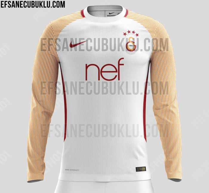 new style b7086 8516c FTH: Galatasaray 2017-18 Home, Away and Third Kit Leaked