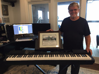 2016 Winner Bill Wren with the Casio Privia – winners – pictures from Awards Dinner – Link to past contest winners