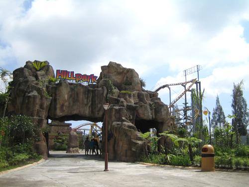 Taman Bermain Hillpark Sibolangit Jadi Favorit Di Medan