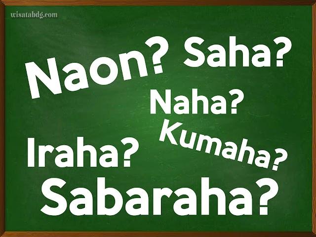 Kata Tanya dalam Bahasa Sunda Beserta Contoh Kalimat dan Artinya