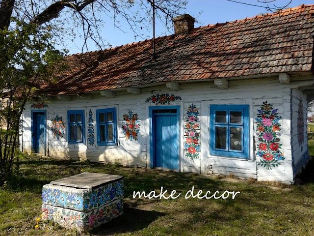 Zalipie-malowana wieś