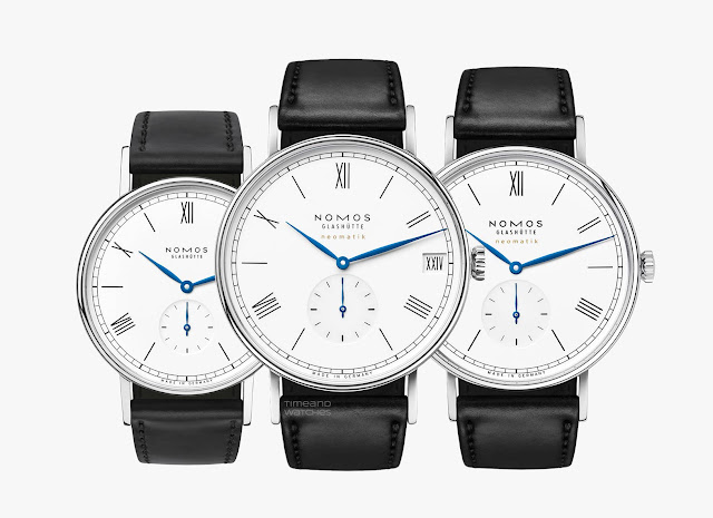 Nomos Glashütte Ludwig anniversary watches: 175 Years of Watchmaking in Glashütte