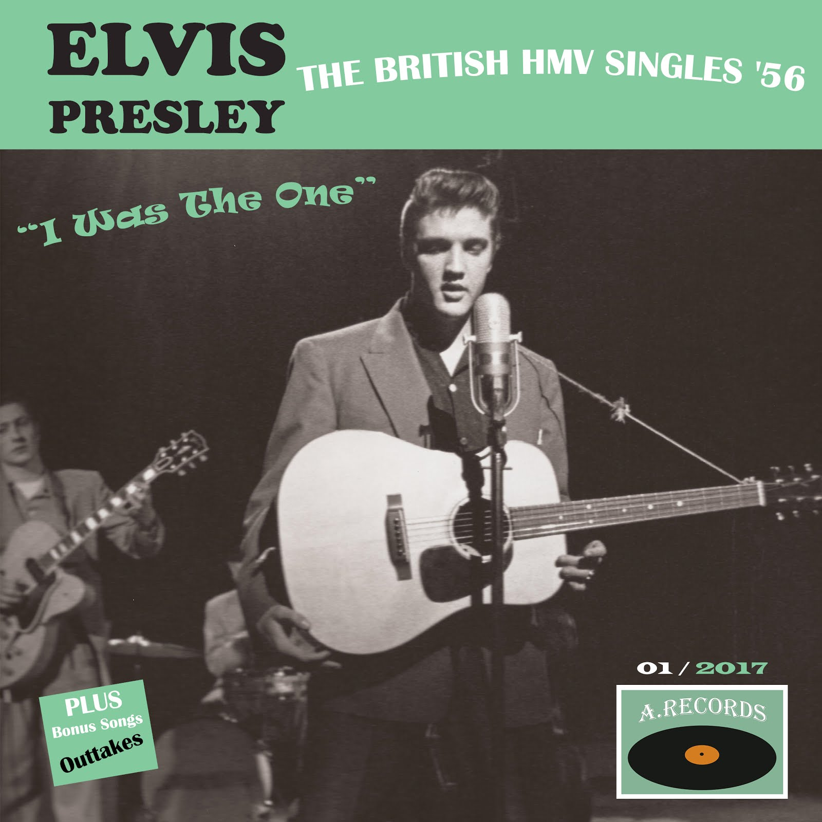 The British HMV Singles '56 - I Was The One (January 2017)