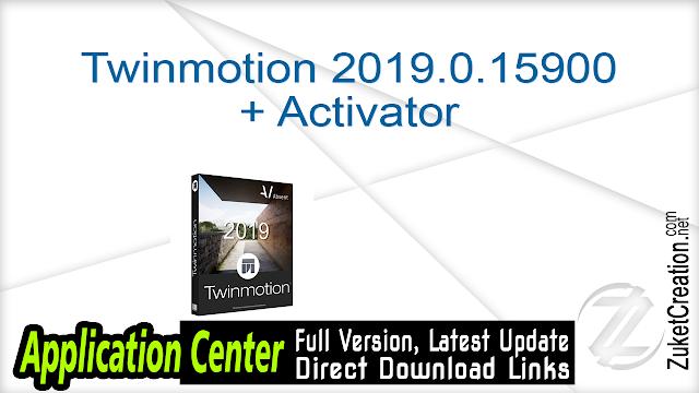 Twinmotion 2019.0.15900 + Activator