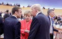 Nineteen of the G20 leaders stated their strong commitment to dealing with climate change. U.S. President Donald Trump's opposition was left as a footnote. (Credit: Kay Nietfeld/AFP/Getty Images) Click to Enlarge.