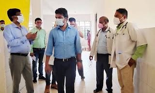 सामुदायिक स्वास्थ्य केंद्र में बनाया जाए 50 बेड का अस्पतालः डीएम  | #NayaSaberaNetwork