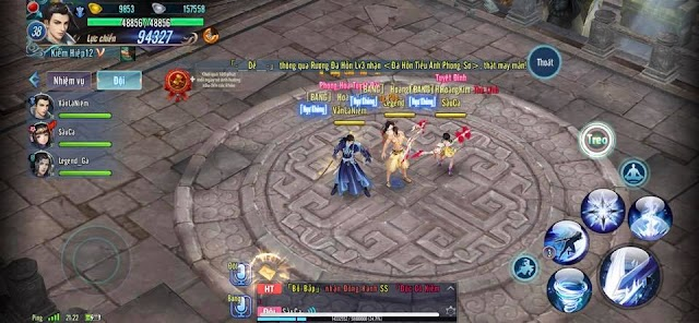Võ Lâm Kiếm Hiệp Tình - phiên bản game mobile dành cho dân cày cuốc, tắt chức năng nạp KNB