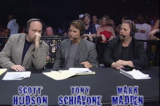 WCW - The Great American Bash 2000 - Scott Hudson, Tony Schiavone, and Mark Madden called the show