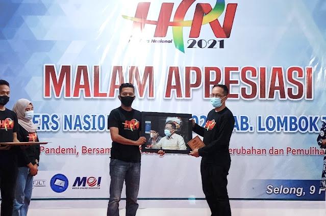 Malam Apresiasi menjadi puncak peringatan HPN di Lombok Timur