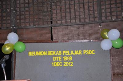 reunion bekas student psdc