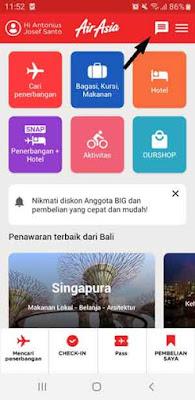 Aplikasi untuk Refund Tiket Air Asia - Backpacker Manyar