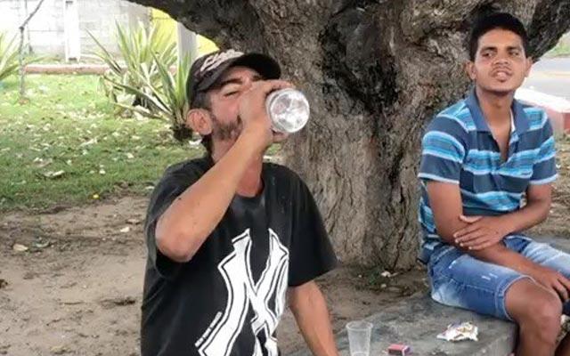 Polícia investiga morte de catador que ingeriu garrafa de cachaça inteira por dinheiro