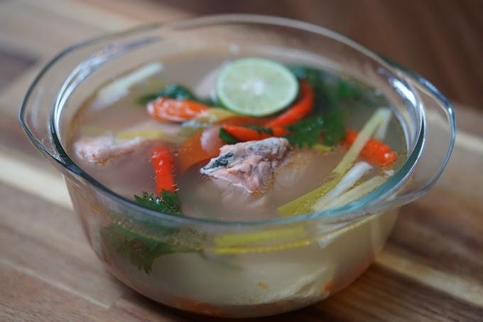 Resep Soup Salmon Terbaik
