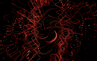 Developing Creativity - Red Folly - Visualizer by doug smith