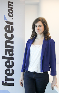 Antonia Bensusan, Responsable de Marketing de freelancer.com