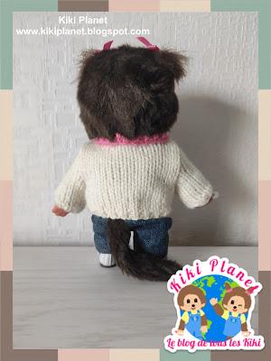kiki monchhichi pull tricot sweater doll