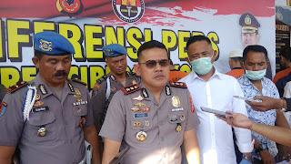 Polres Cirebon Kota Tangkap Pengedar Narkoba Dikendalikan Lapas