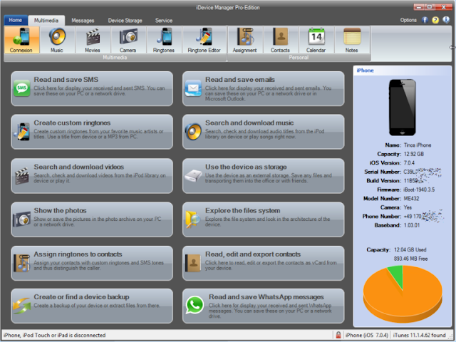 iDevice Manager Pro 10.0
