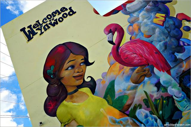 Mural de Bienvenida en Wynwood, Miami