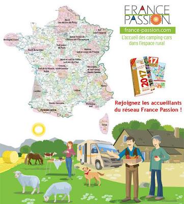 France Passion, oferta para los autocaravanistas en el año 2017